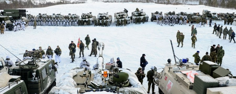 Military activity of foreign countries in the Arctic region