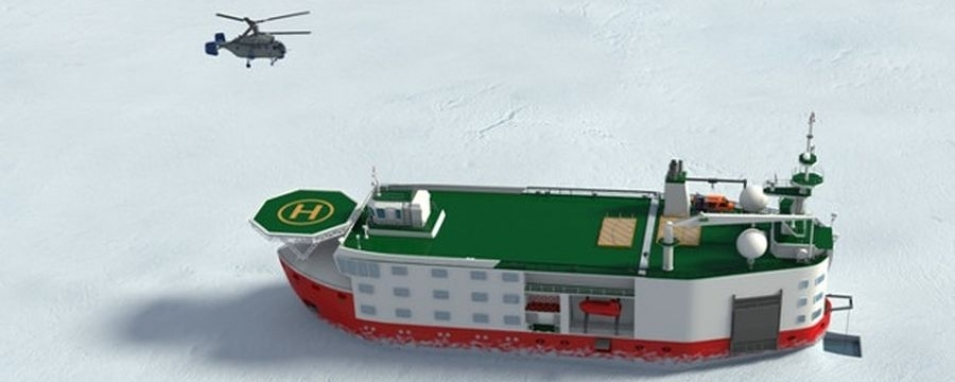 Russia will build the self-moving Arctic platform