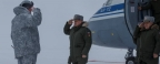 Shoigu in the Arctic examined the new military superior base