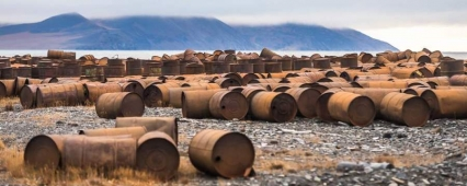 In the Arctic it was at 30 thousand less than the old barrels