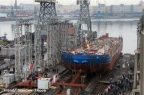 At the Baltic Shipyard laid the world's largest icebreaker