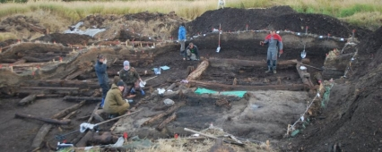 During excavations in the NAO found about 300 artifacts